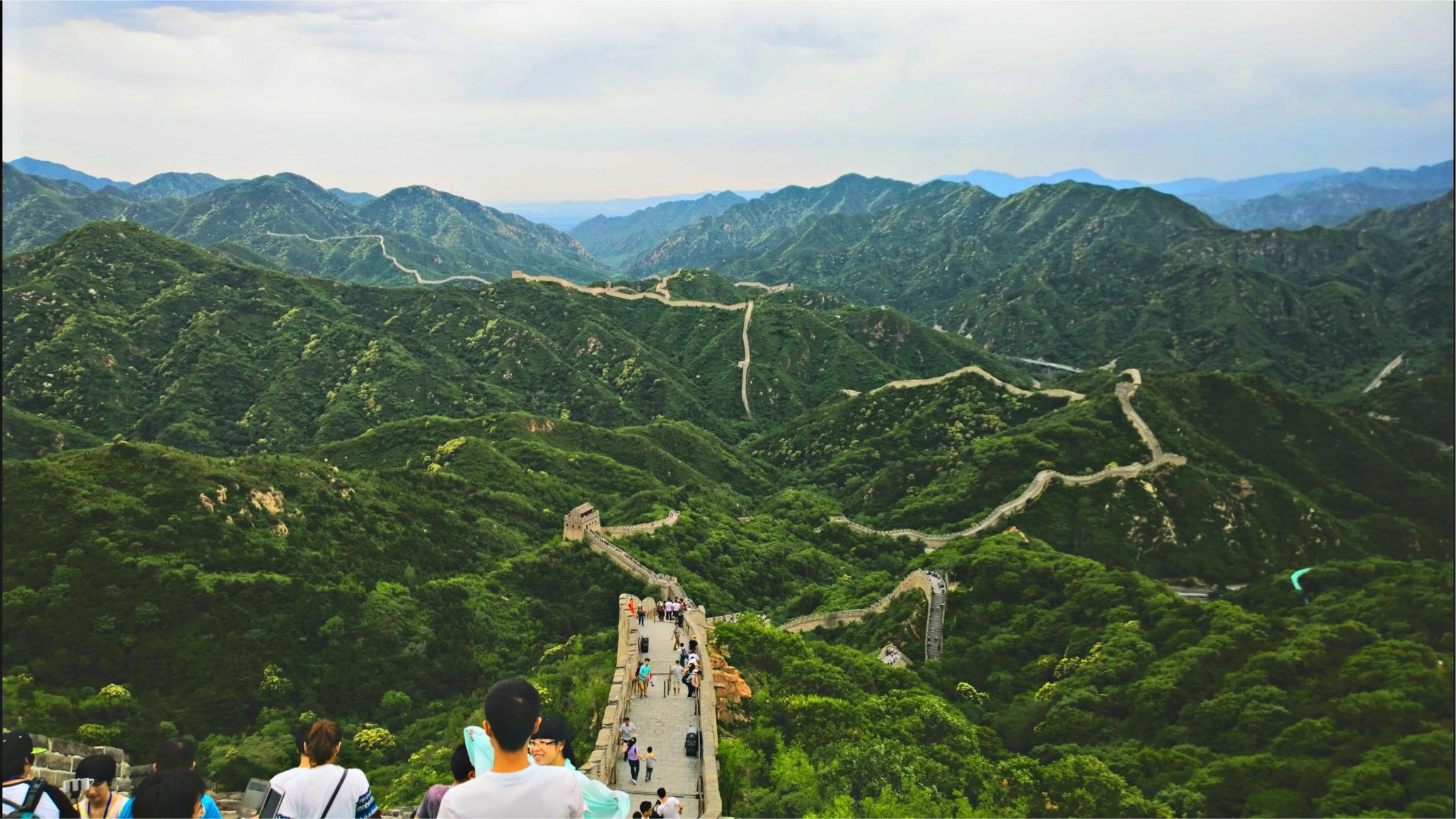 Великая китайская стена. Бадалин. Фото автора