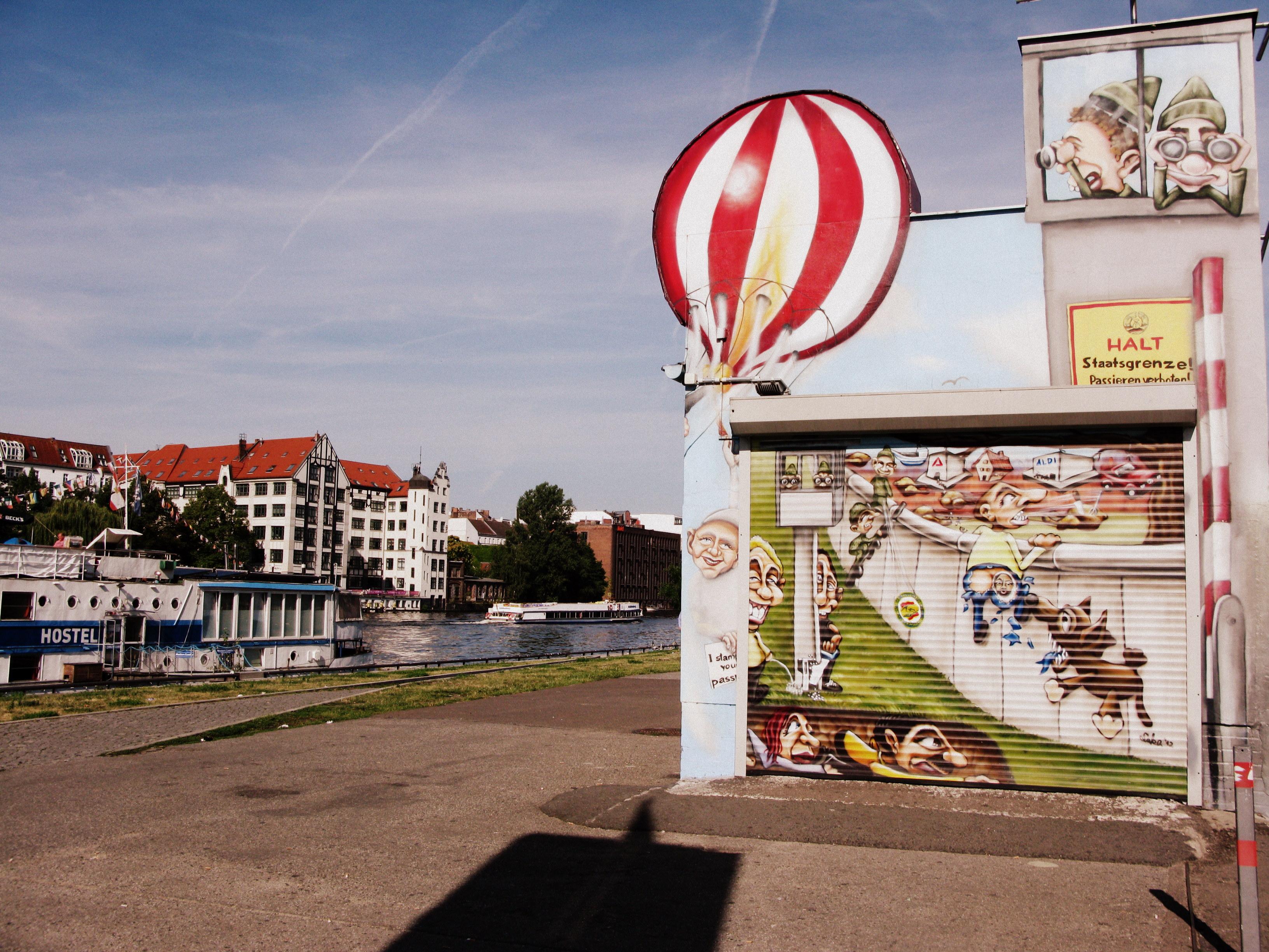 Берлинская стена East Side Gallery. Фото автора