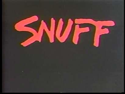 Постер к фильму Snuff. Реж. Майкл Финдли, 1976.
