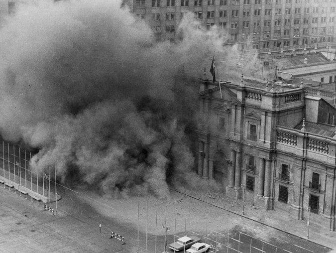 Кадр из фильма «Битва за Чили» (1975 - 1979)