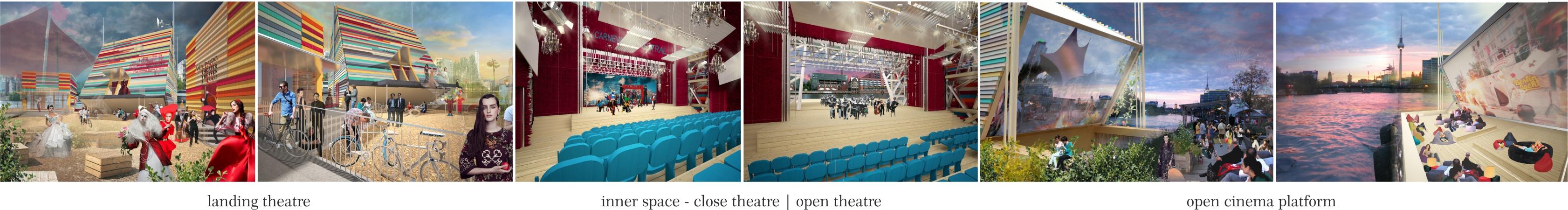 """Проект """"Mirror Mirror floating theatre"""". А.Будникова"""