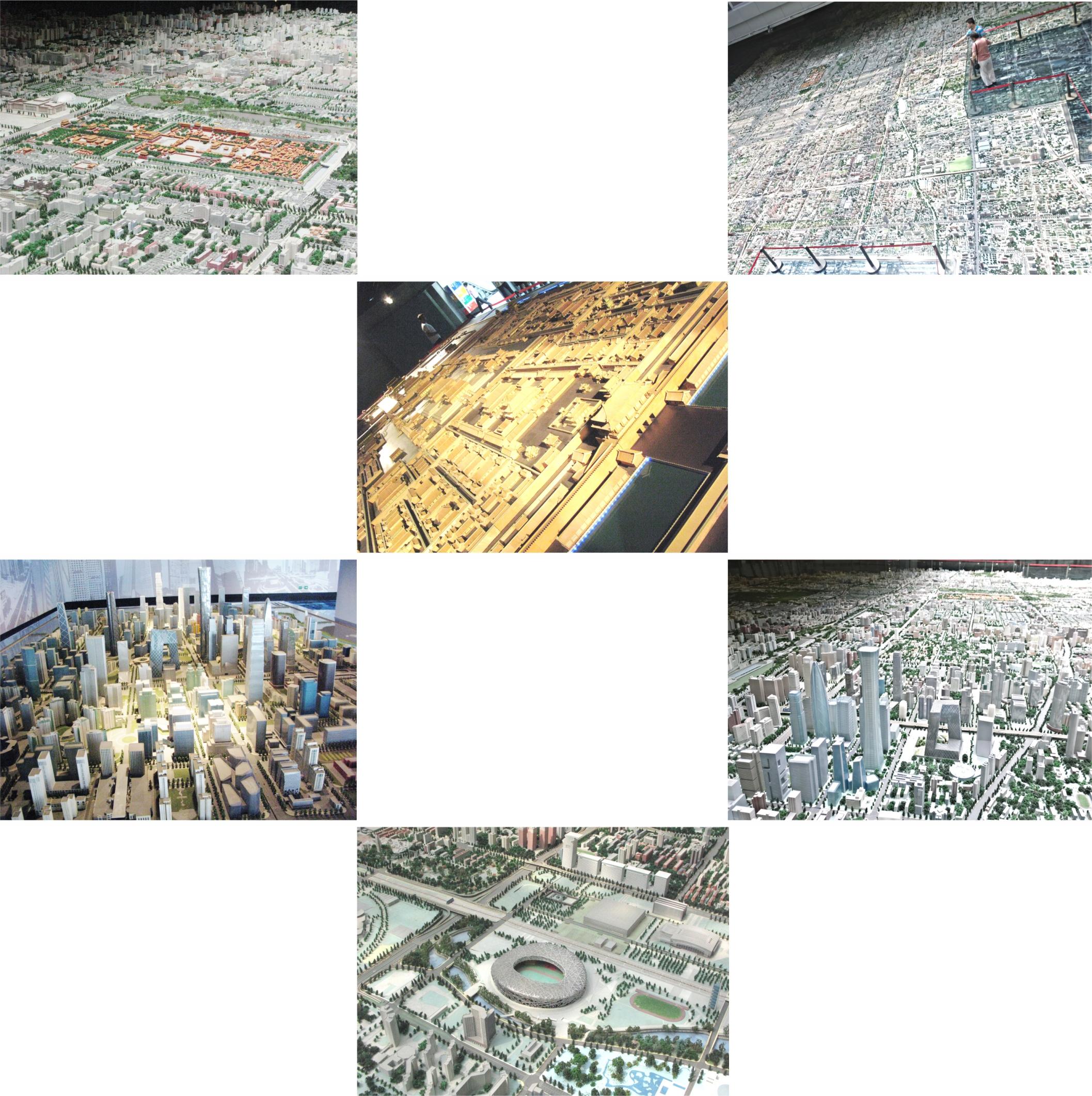 Макет города в Музее городского планирования. Фото автора