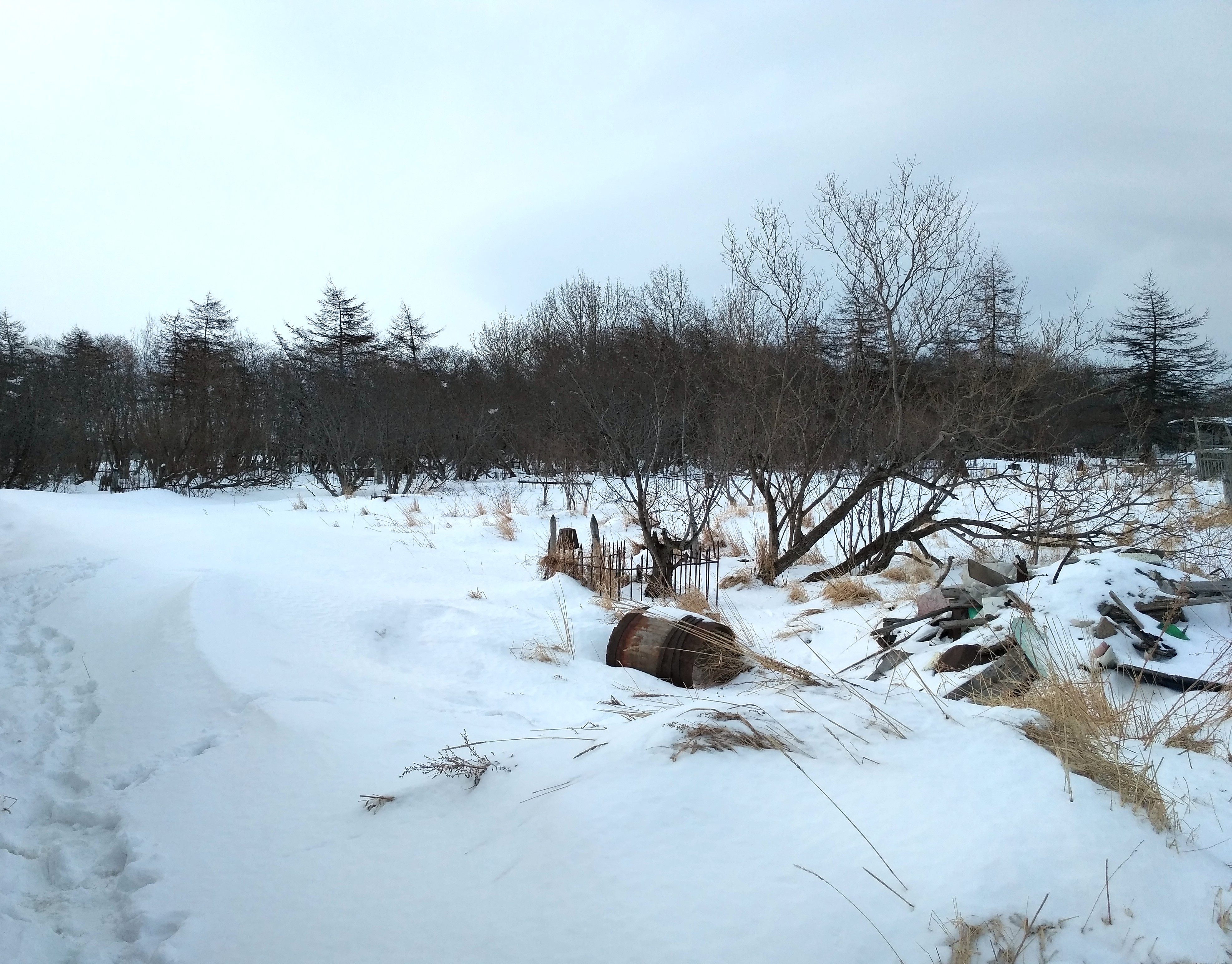 Старое кладбище, г. Магадан