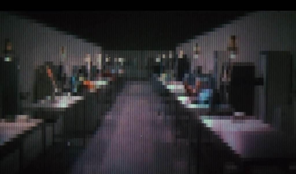 Кадр из фильма «Западный мир» 1973 года. Сегодня мы бы сказали, что эта картинка очень плохого качества.