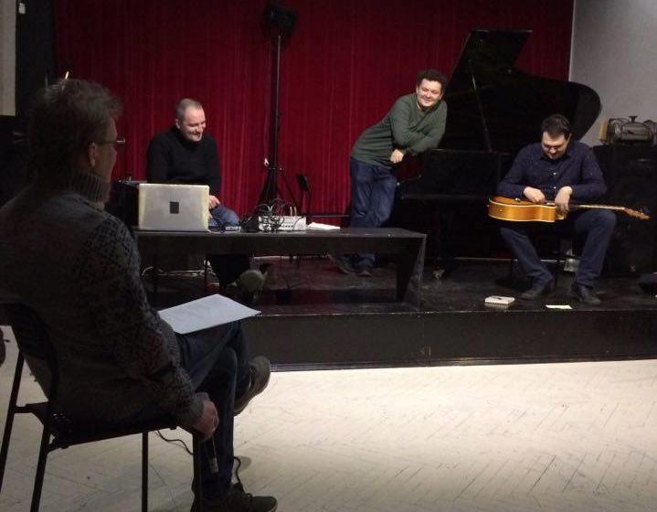 Слева направо: Андрей Сен-Сеньков, Алексей Сысоев, Юрий Фаворин, Владимир Горлинский. Фото:Мелина Панаотович