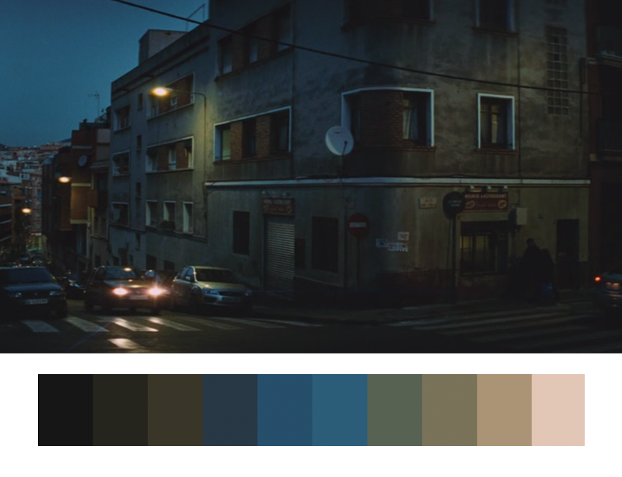 Цветовые схемы. Кристофер Дойл