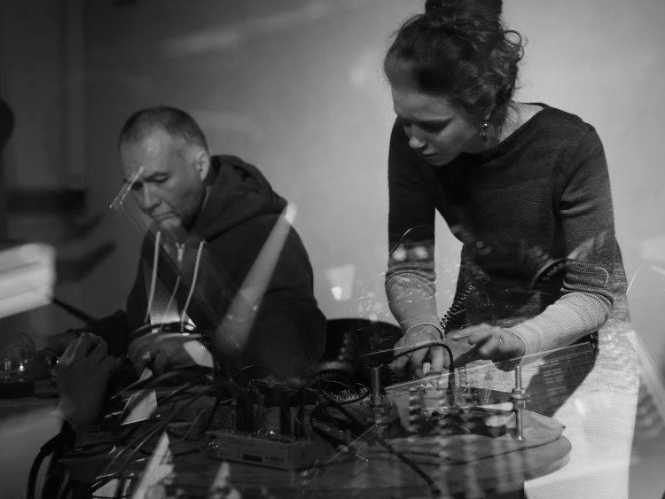 Алексей Борисов и Katya Rekk live at DOM 2015. Фото: Виктор Луповской.