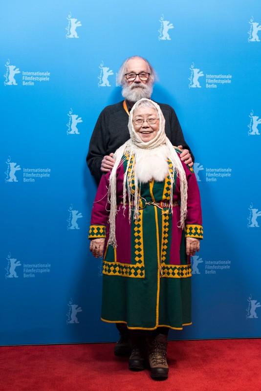 Анастасия и Маркку на Берлинале 2017